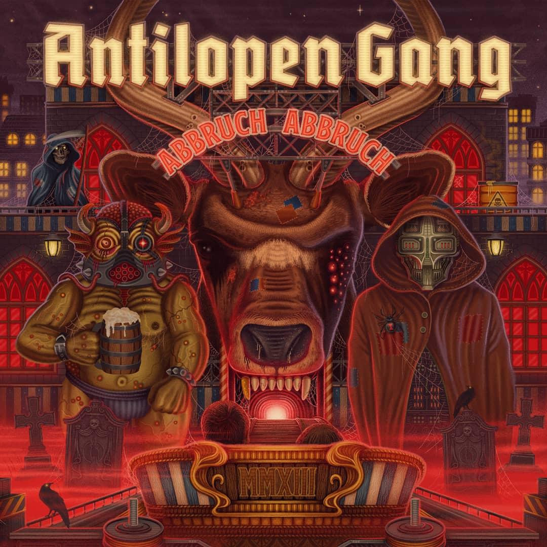 Album-Cover von Antilopen Gang - Abbruch Abbbruch