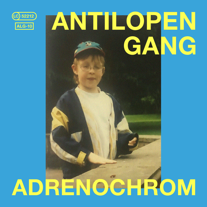 Album-Cover von Antilopen Gang - Adrenochrom