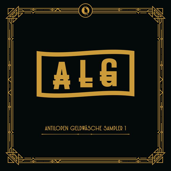 Album-Cover von Antilopen Gang - Antilopen Geldwäsche Sampler 1
